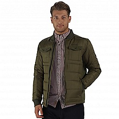 Regatta - Green larrie lightweight quilted jacket
