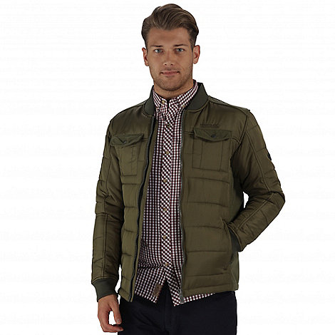 Regatta Green larrie lightweight quilted jacket | Debenhams