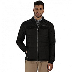 Regatta - Black larrie lightweight quilted jacket