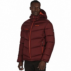 Regatta - Burgundy 'Nevado' insulated jacket
