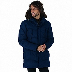 Regatta - Blue 'Andram' parka jacket