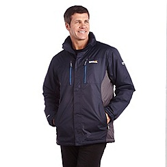 Regatta - Navy/s grey fraser jacket