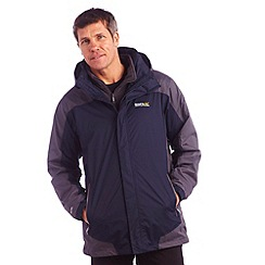 Regatta - Navy/s grey baxley 3 in 1