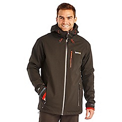 Regatta - Black wrightbridge waterproof jacket