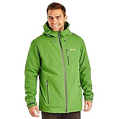 Regatta - Green wrightbridge waterproof jacket