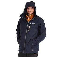 Regatta - Navy wrightbridge waterproof jacket