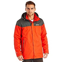 Regatta - Red / grey bakewell waterproof jacket