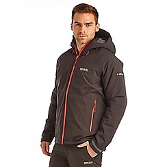 Regatta - Black grisedale waterproof jacket