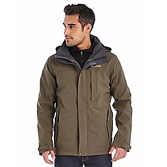 Regatta - Khaki northmore 3 in 1 waterpoof jacket