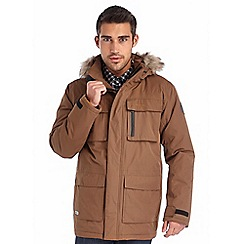 Regatta - Brown skysail waterproof jacket