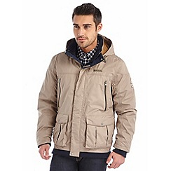 Regatta - Sand merchant insulated waterproof bomber jacket