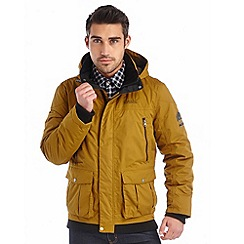 Regatta - Mustard merchant insulated waterproof bomber jacket