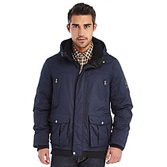 Regatta - Navy merchant insulated waterproof bomber jacket