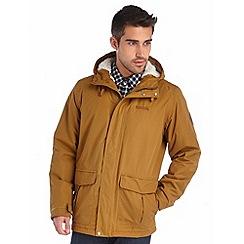 Regatta - Mustard sternway insulated waterproof coat