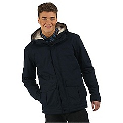 Regatta - Navy sternway insulated waterproof coat