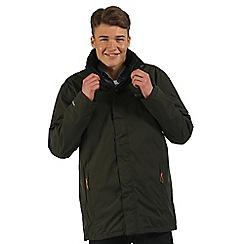 Regatta - Dark green Telmar 3 in 1 waterproof jacket