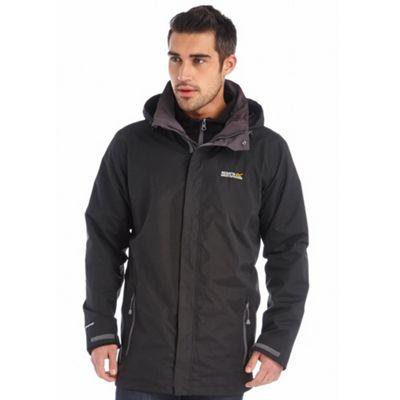 Regatta Black Thornridge waterproof jacket | Debenhams