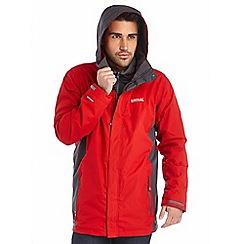 Regatta - Red telmar 3 in 1 waterproof jacket