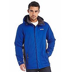 Regatta - Bright blue thornridge waterproof jacket