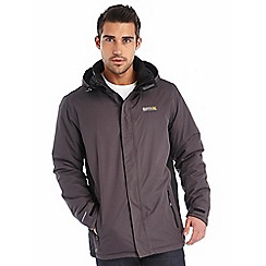 Regatta - Grey thornridge waterproof jacket