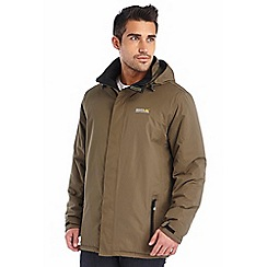 Regatta - Khaki thornridge waterproof jacket