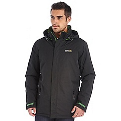 Regatta - Black thornridge waterproof jacket