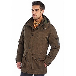 Regatta - Khaki monfield waterproof jacket