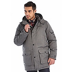 Regatta - Grey monfield waterproof jacket