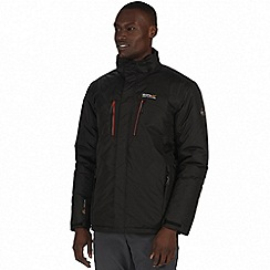 Regatta - Black 'Fabens' waterproof insulated jacket