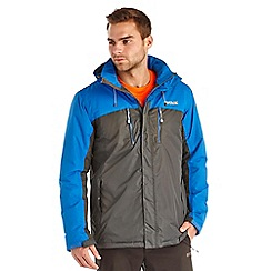 Regatta - Oxford blue fabens waterproof jacket