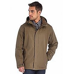 Regatta - Khaki hesper waterproof jacket