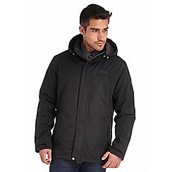 Regatta - Black hesper waterproof jacket