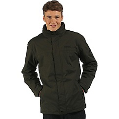 Regatta - Dark green Hesper waterproof jacket