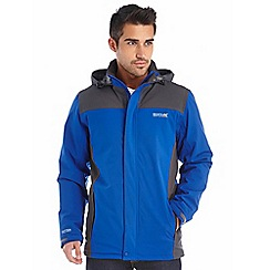 Regatta - Bright blue hackberry waterproof jacket
