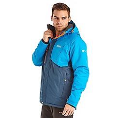 Regatta - Blue fermont waterproof jacket