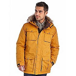 Regatta - Mustard skyber waterproof jacket