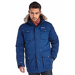 Regatta - Royal blue skyber waterproof jacket