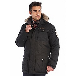 Regatta - Black skyber waterproof jacket