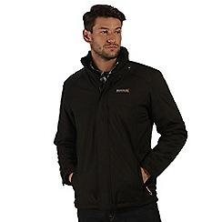 Regatta - Black Hackber waterproof jacket