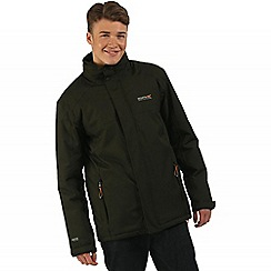 Regatta - Green Hackber waterproof jacket