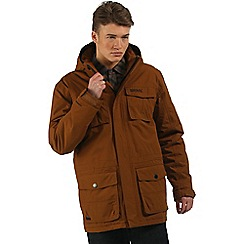 Regatta - Brown Penkar waterproof parka