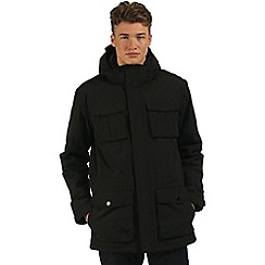 Regatta - Black Penkar waterproof parka