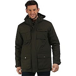 Regatta - Dark green Penkar waterproof parka