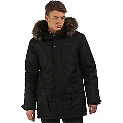 Regatta - Black Alphar waterproof parka