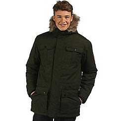 Regatta - Dark green Saltoro waterproof parka