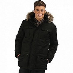 Regatta - Black Saltoro waterproof parka