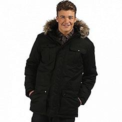 Regatta - Black 'Saltoro' waterproof insulated jacket