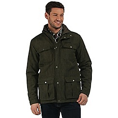 Regatta - Green Ellingwood waterproof jacket