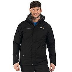 Regatta - Black Highside waterproof jacket