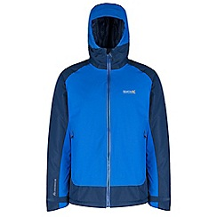 Regatta - Blue Grisedale hybrid waterproof jacket